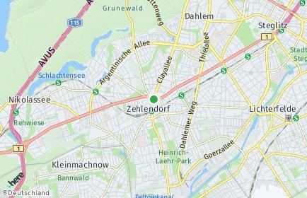 Stadtplan Berlin-Zehlendorf