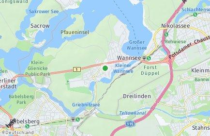Stadtplan Berlin-Wannsee