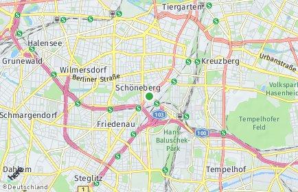 Stadtplan Berlin-Schöneberg