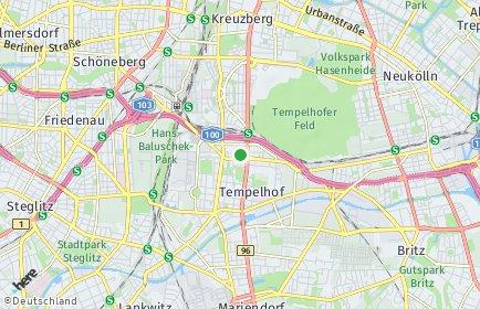 Stadtplan Berlin-Tempelhof