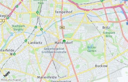 Stadtplan Berlin-Mariendorf