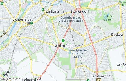 Stadtplan Berlin-Marienfelde