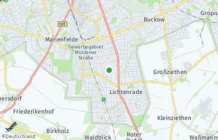 Stadtplan Berlin-Lichtenrade