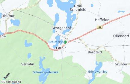 Stadtplan Carpin