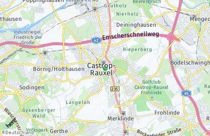 Stadtplan Castrop-Rauxel