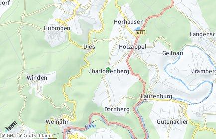 Stadtplan Charlottenberg