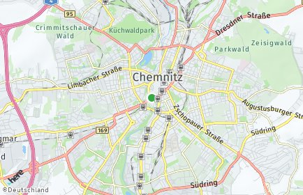 Stadtplan Chemnitz OT Kleinolbersdorf-Altenhain