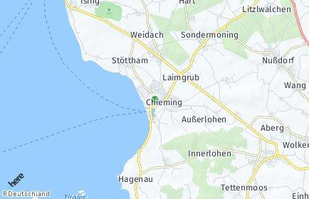 Stadtplan Chieming