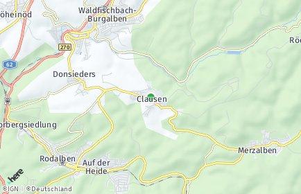 Stadtplan Clausen