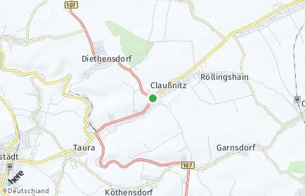 Stadtplan Claußnitz