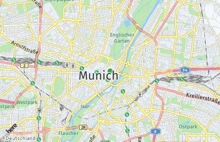 Stadtplan München OT Altstadt-Lehel