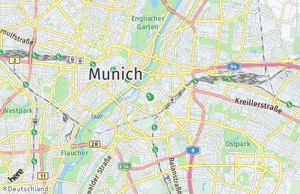 Stadtplan München OT Au-Haidhausen