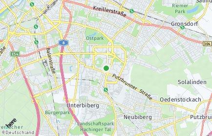 Stadtplan München OT Ramersdorf-Perlach