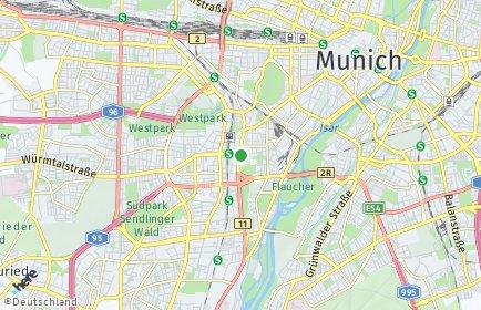 Stadtplan München OT Sendling