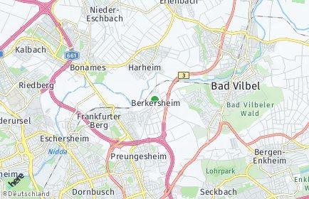 Stadtplan Frankfurt am Main OT Berkersheim