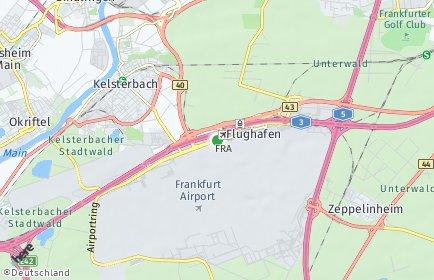 Stadtplan Frankfurt am Main OT Flughafen