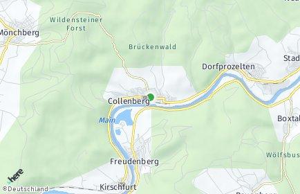 Stadtplan Collenberg