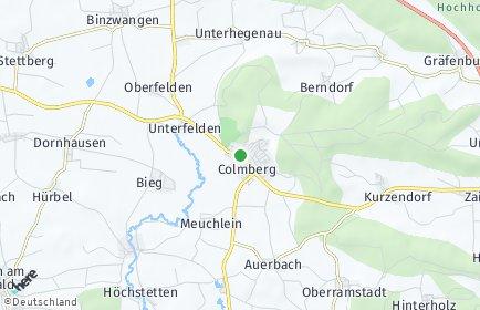 Stadtplan Colmberg