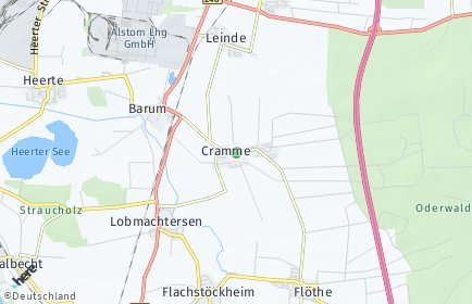 Stadtplan Cramme