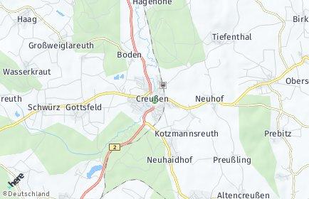 Stadtplan Creußen