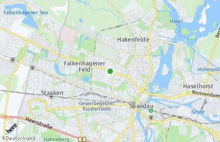 Stadtplan Berlin-Falkenhagener Feld