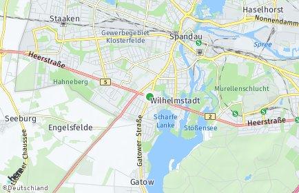 Stadtplan Berlin-Wilhelmstadt