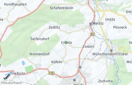 Stadtplan Crimla