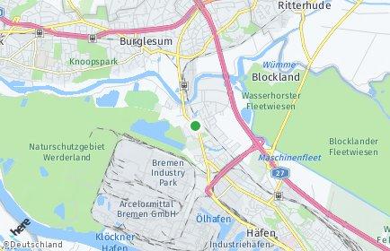 Stadtplan Bremen-Burglesum