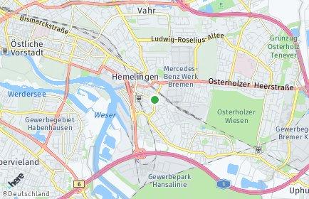 Stadtplan Bremen-Hemelingen