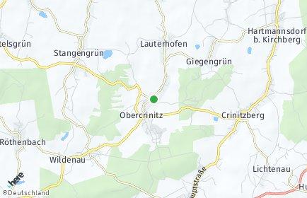 Stadtplan Crinitzberg