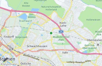 Stadtplan Bremen-Horn-Lehe