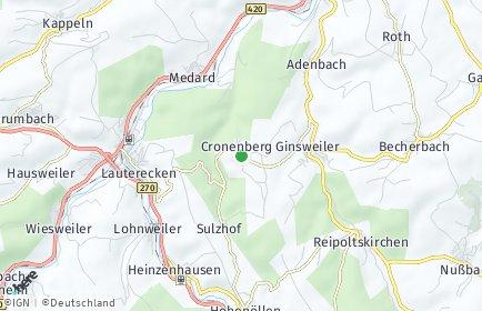 Stadtplan Cronenberg