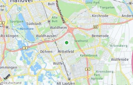 Stadtplan Hannover OT Seelhorst