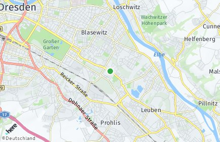 Stadtplan Dresden OT Seidnitz/Dobritz