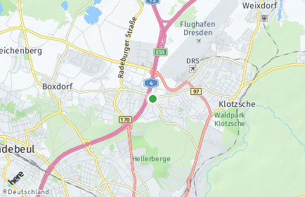 Stadtplan Dresden OT Hellerau/Wilschdorf