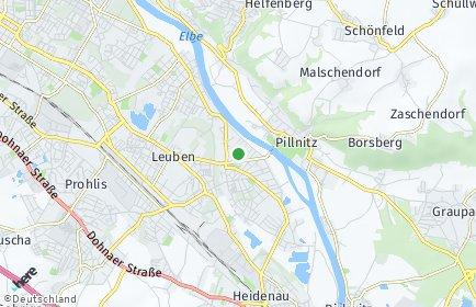 Stadtplan Dresden OT Kleinzschachwitz