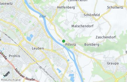 Stadtplan Dresden OT Hosterwitz/Pillnitz