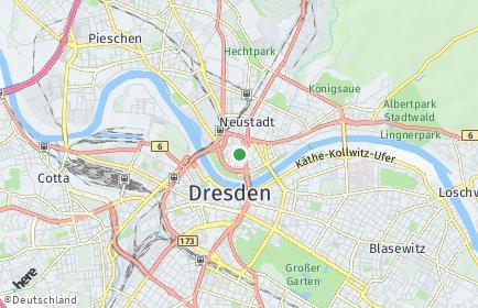 Stadtplan Dresden OT Innere Neustadt