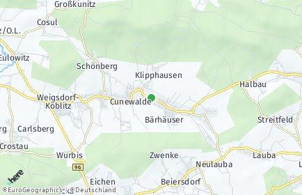 Stadtplan Cunewalde