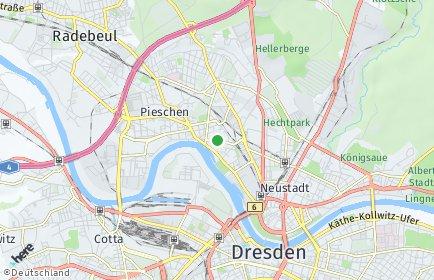 Stadtplan Dresden OT Pieschen-Süd