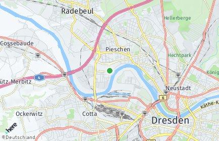 Stadtplan Dresden OT Mickten
