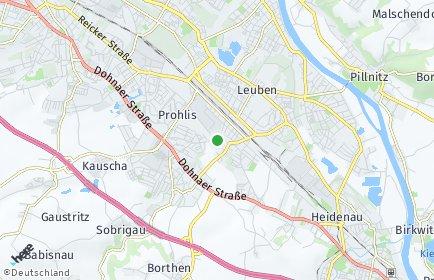 Stadtplan Dresden OT Niedersedlitz