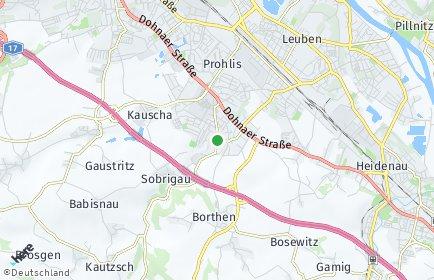 Stadtplan Dresden OT Lockwitz
