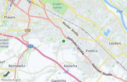 Stadtplan Dresden OT Leubnitz-Neuostra
