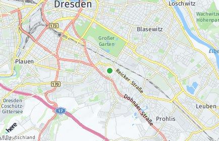 Stadtplan Dresden OT Strehlen