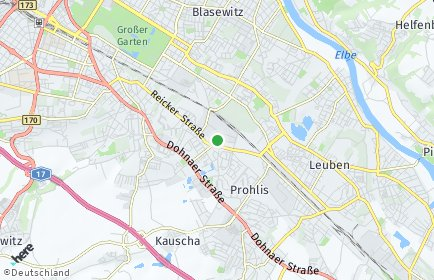 Stadtplan Dresden OT Reick