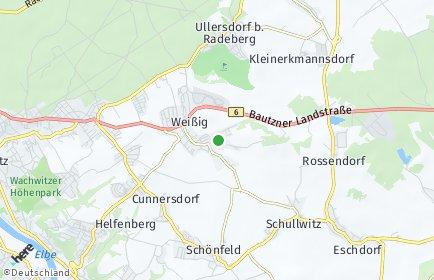 Stadtplan Dresden OT Weißig