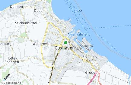 Stadtplan Cuxhaven