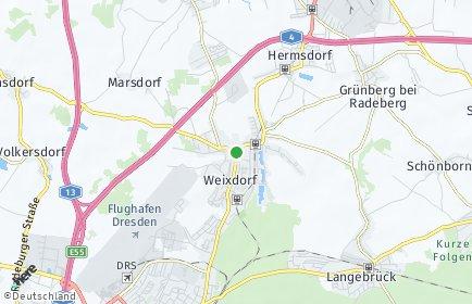 Stadtplan Dresden OT Weixdorf