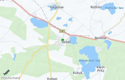 Stadtplan Dabel